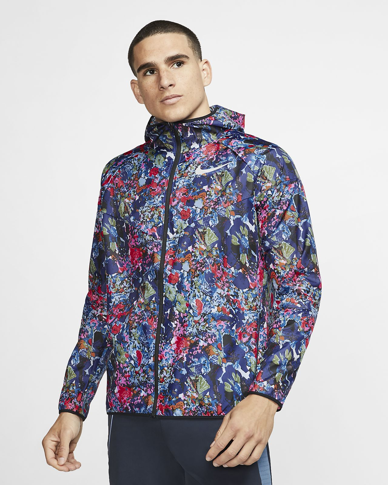Nike Windrunner Men's Printed Running Jacket