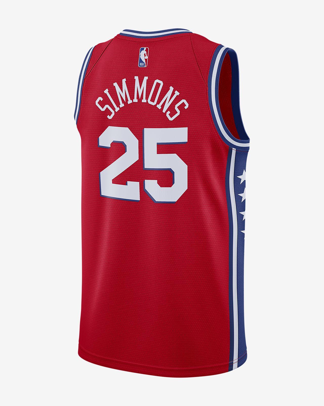 311ea392a9de ... ben simmons statement edition swingman jersey philadelphia 76ers mens  nike nba connected jersey