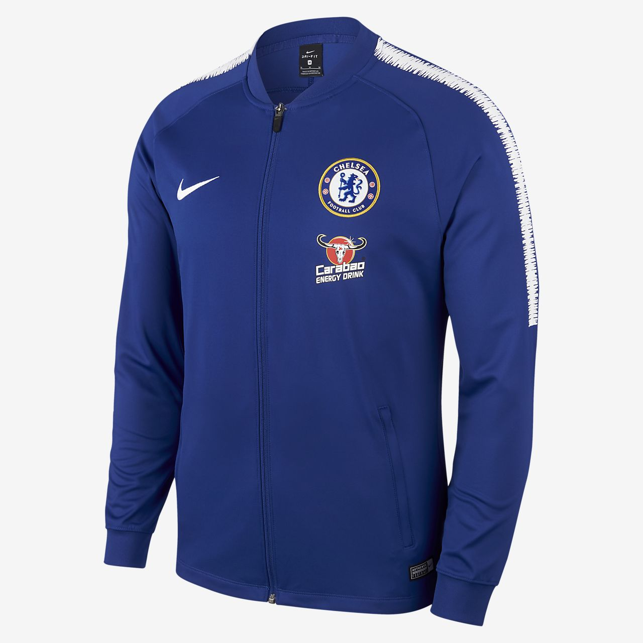 Chelsea FC Dri-FIT Squad Men's Football Track Jacket