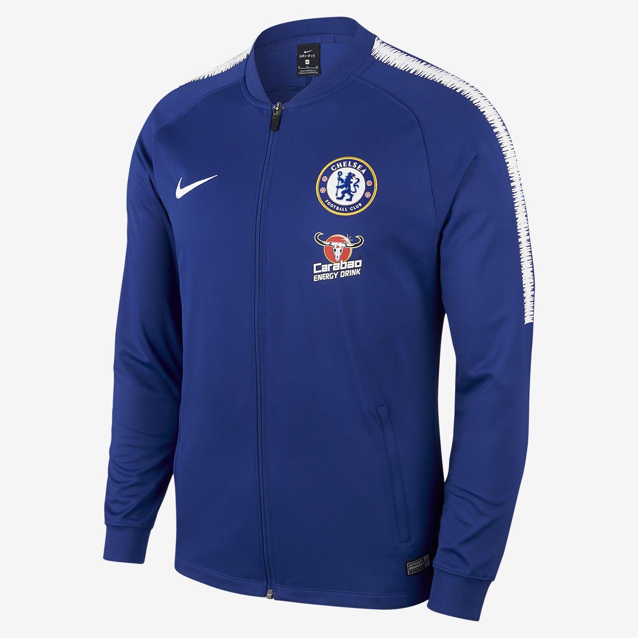 Chelsea FC Dri-FIT Squad Jaqueta de xandall de futbol - Home