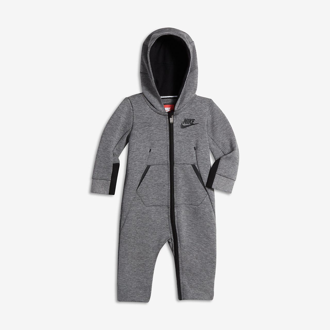 Nike Tech Fleece Infant Hooded Coverall