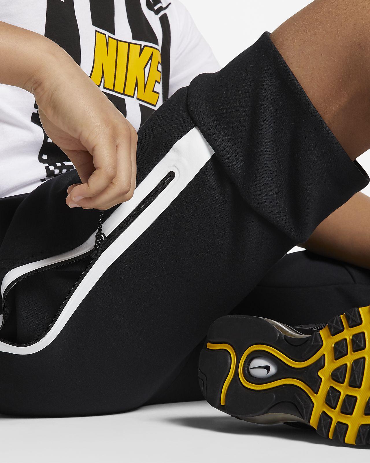 Nike Dry Fit Kids Boy's Track Pants Black Size 5 NWT