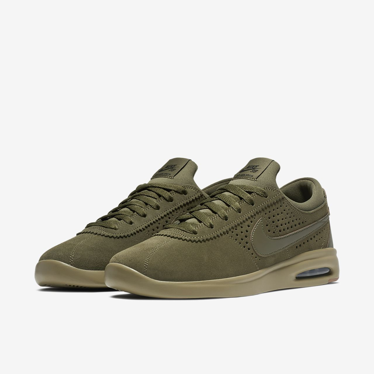Nike SB Air Max Bruin Vapor Men's Skateboarding Shoes Brown uO8570Y