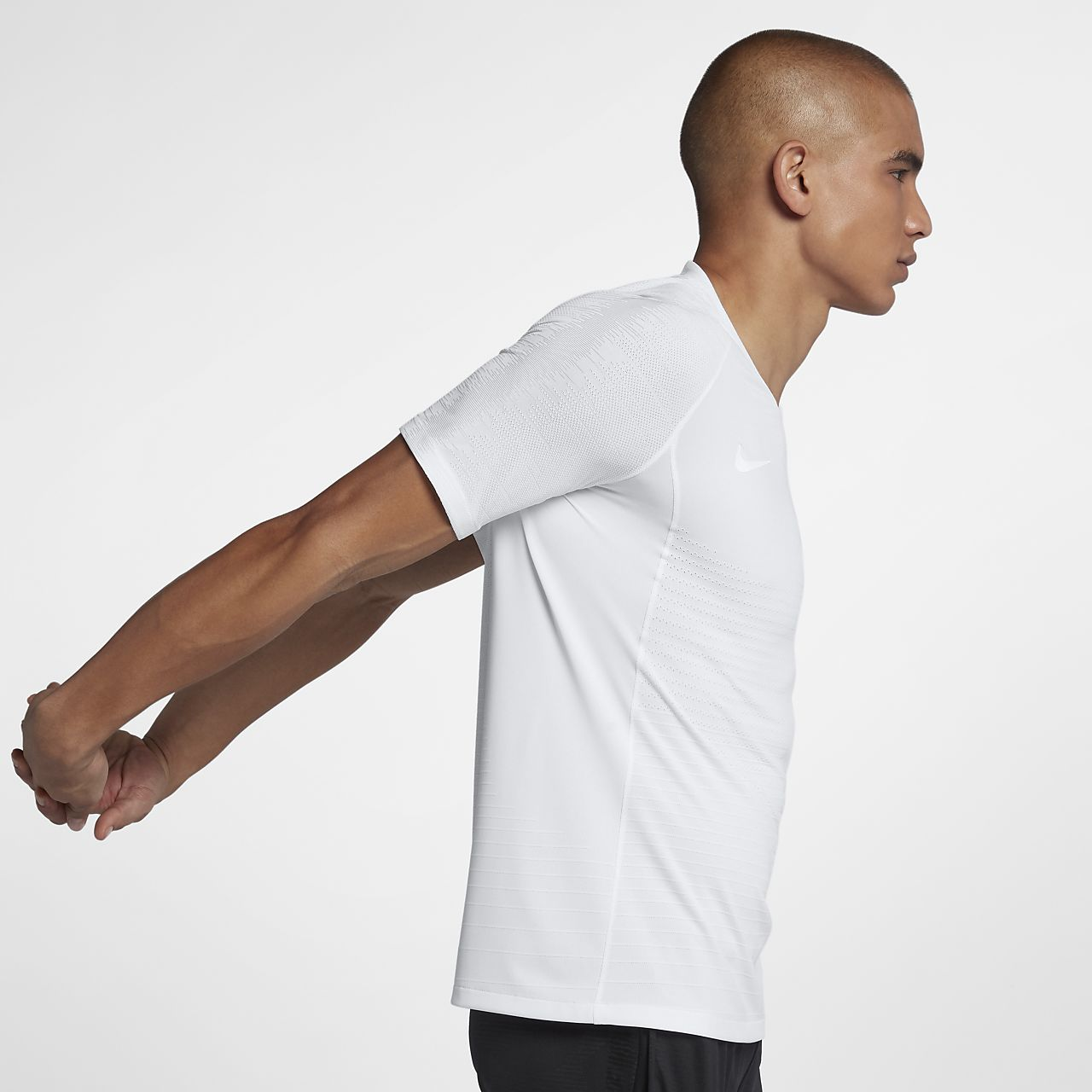 Męska koszulka piłkarska z krótkim rękawem Nike VaporKnit Strike
