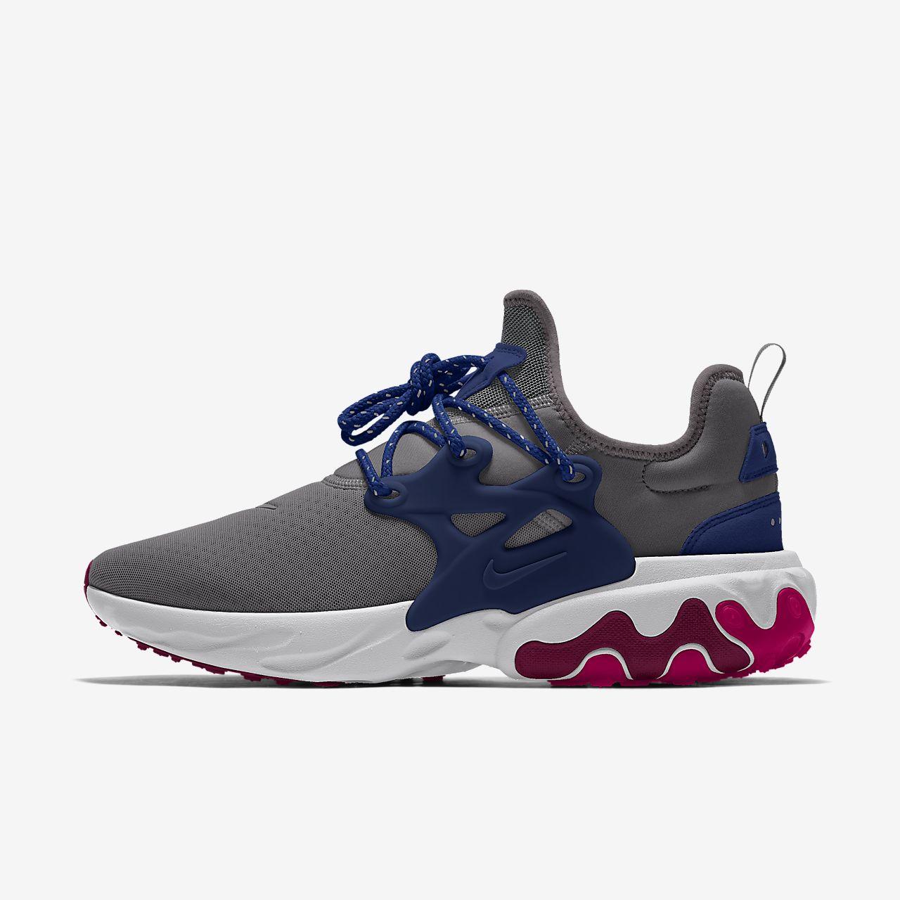 รองเท้าผู้ชายออกแบบเอง Nike React Presto By You