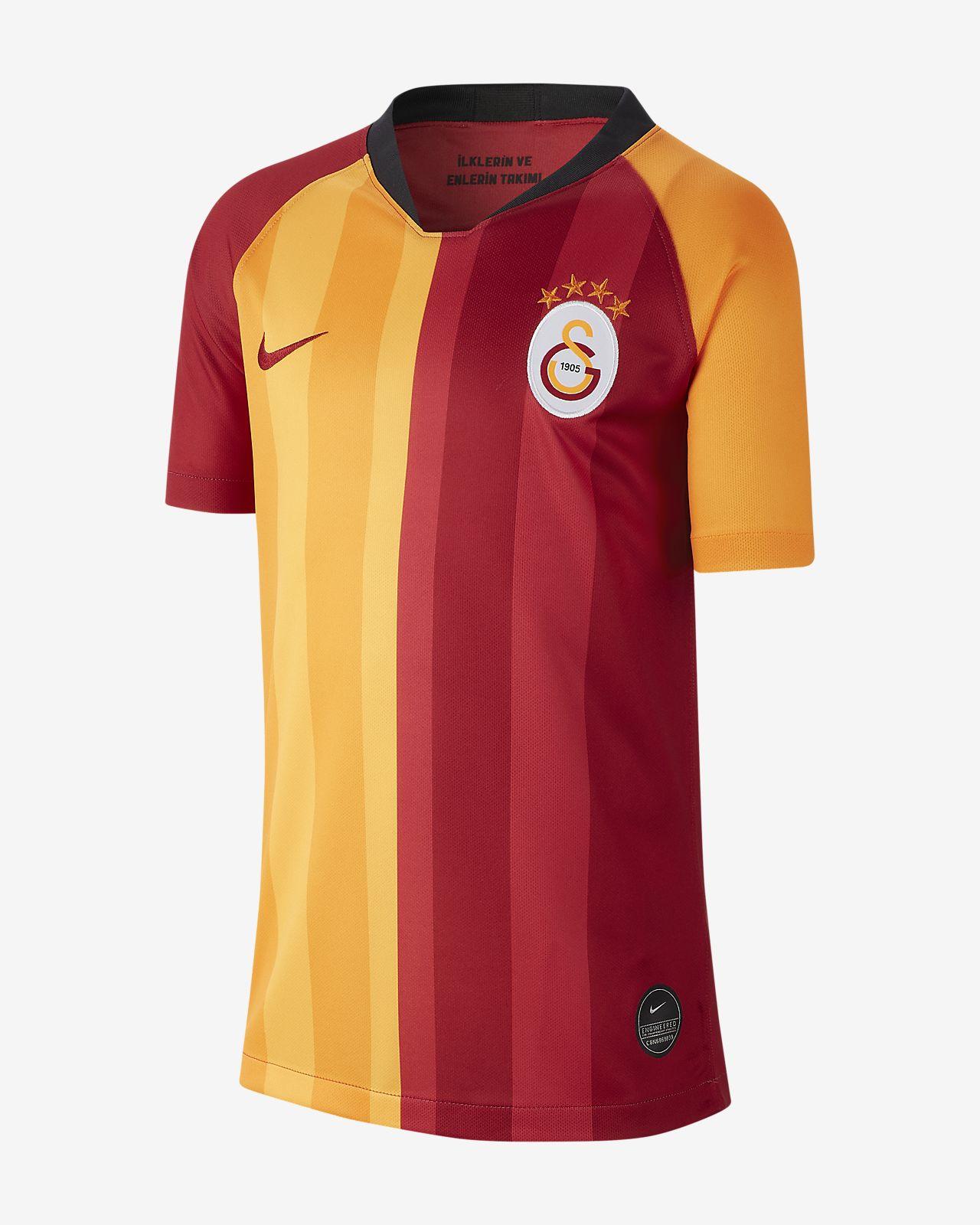 Galatasaray 2019/20 Stadium Home Fußballtrikot für ältere Kinder