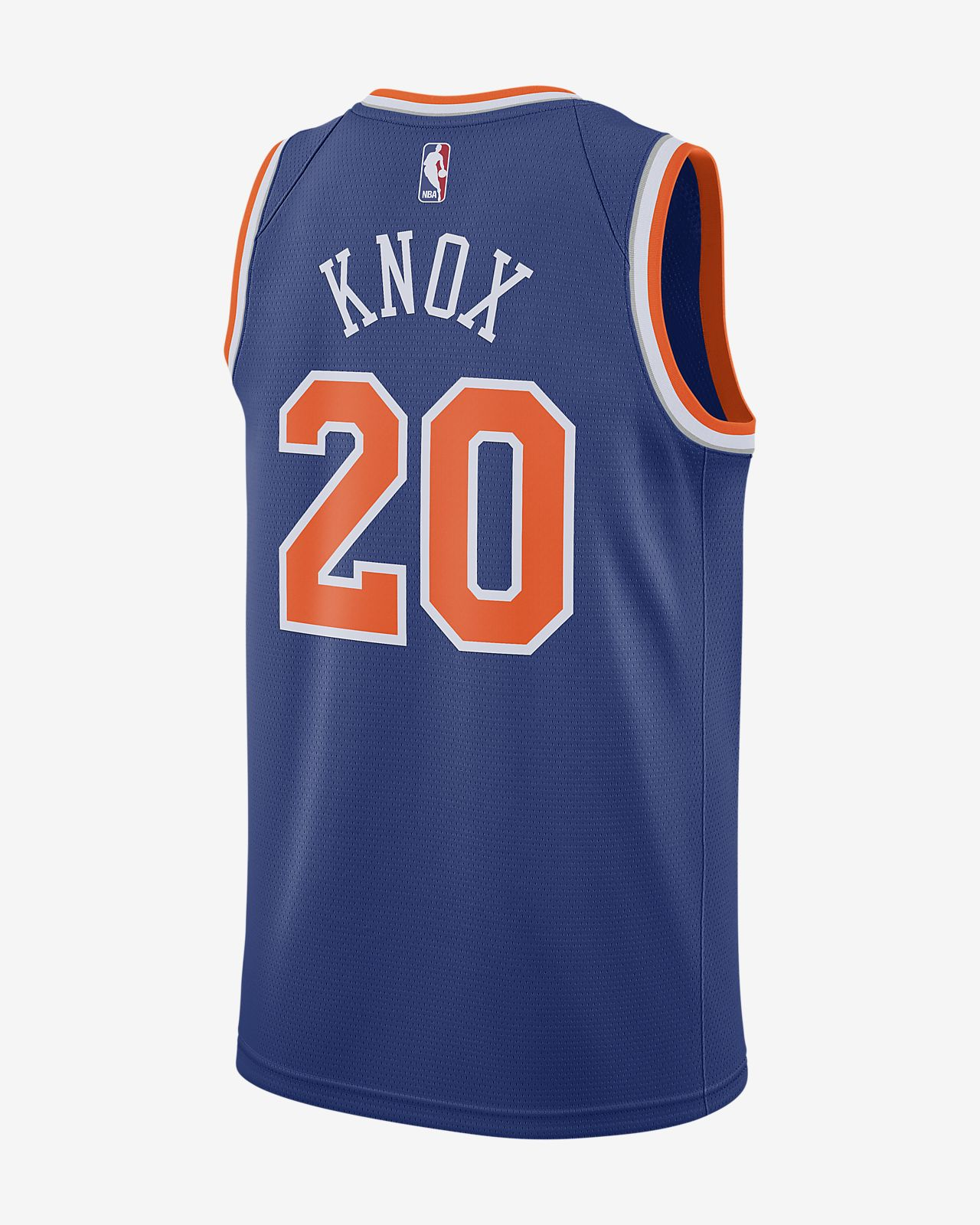 8f3849f0f ... Kevin Knox Icon Edition Swingman (New York Knicks) Men s Nike NBA  Connected Jersey