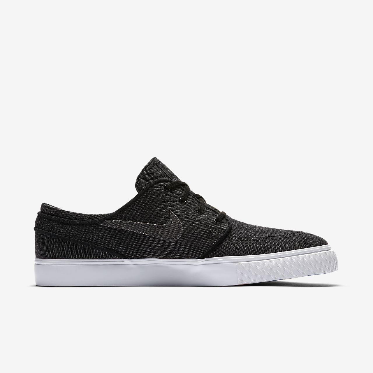 Nike Zoom Stefan Janoski L, Chaussures de Skate Homme, Noir (Black/Black-Black-Anthracite), 46 EU