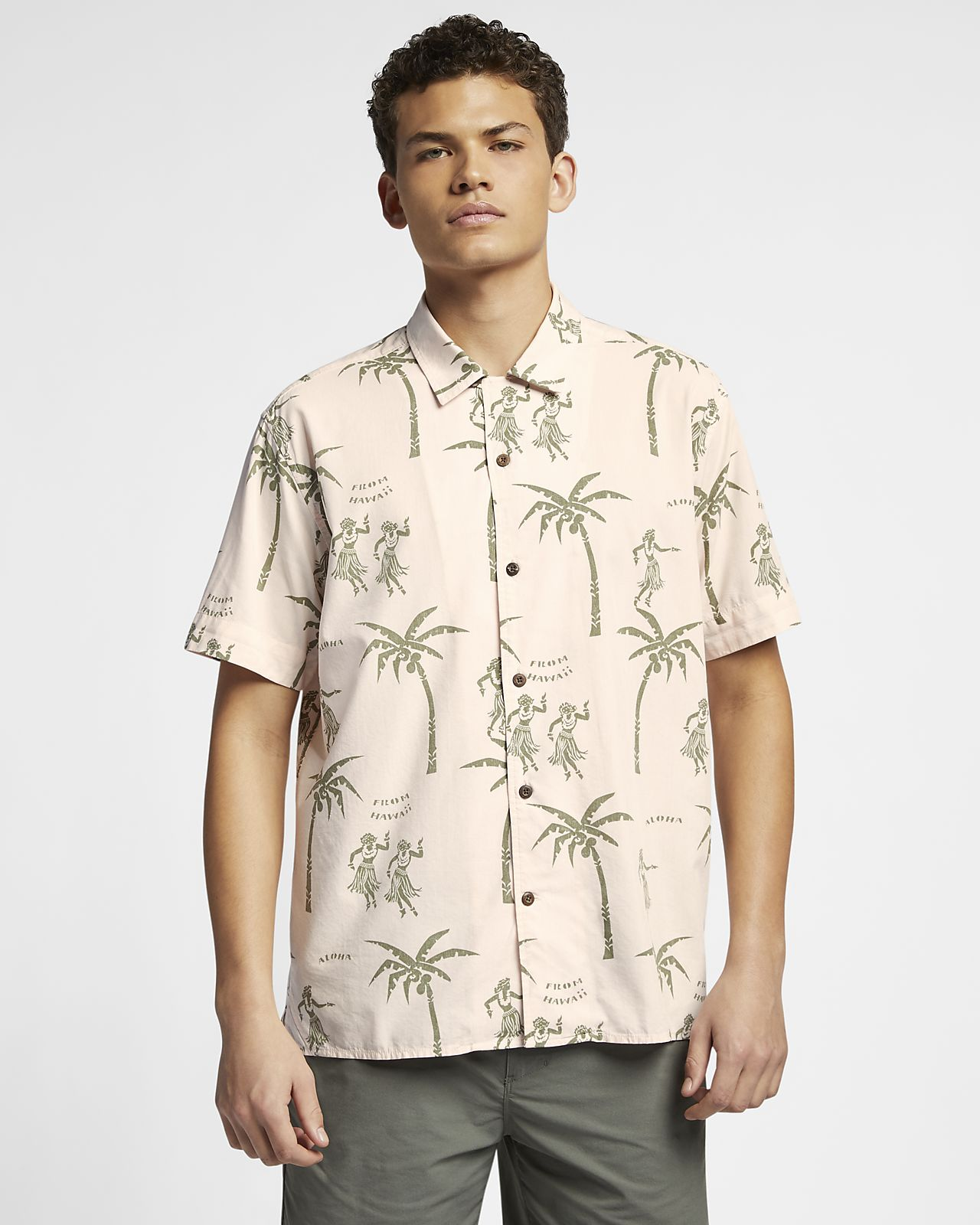 Camicia a manica corta Hurley Aloha - Uomo