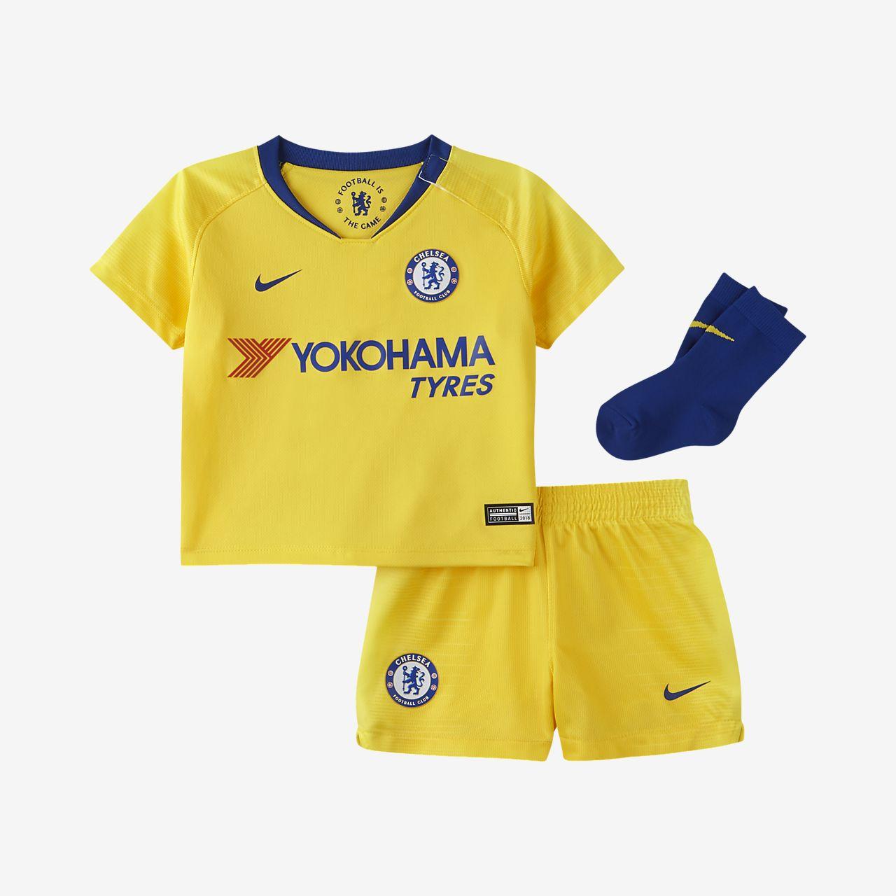Kit de fútbol de visitante Stadium del Chelsea FC 2018/19 para bebé e infantil