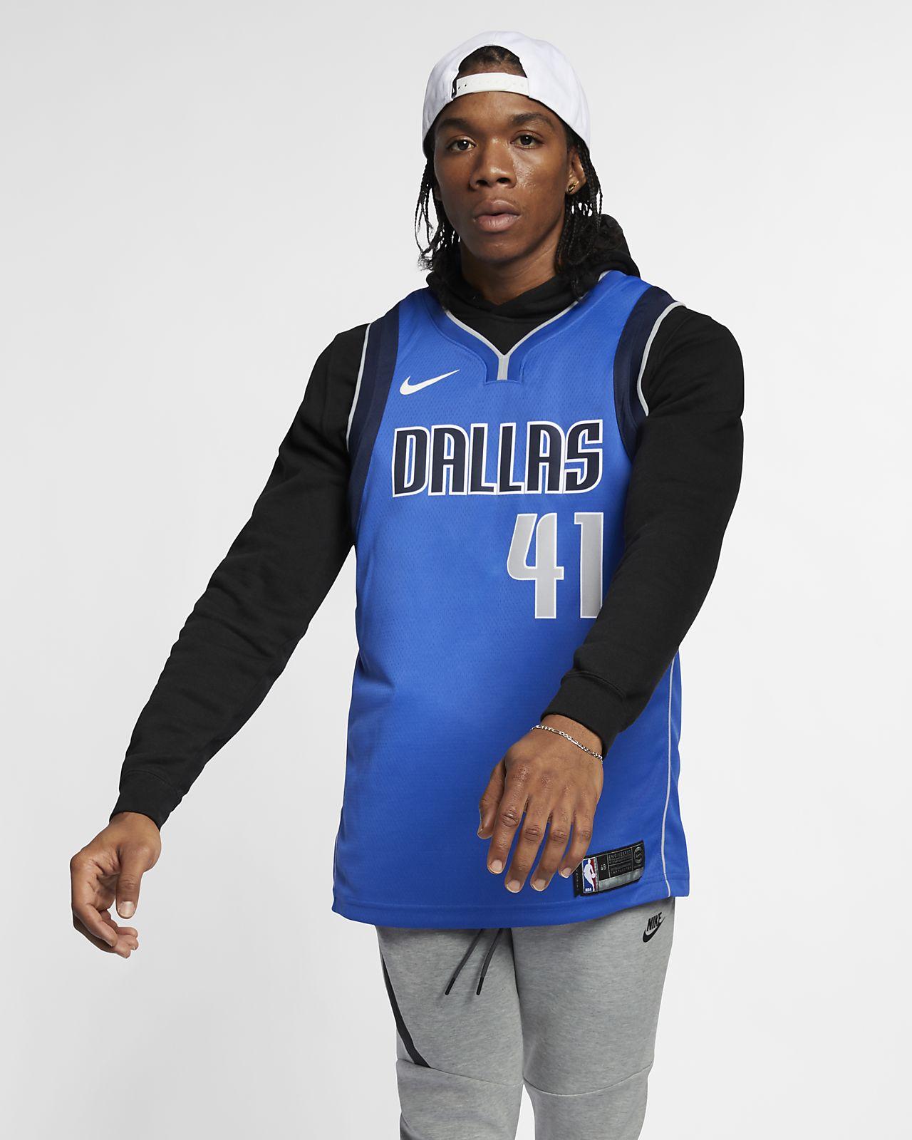 Dirk Nowitzki Mavericks Icon Edition Nike NBA Swingman Jersey