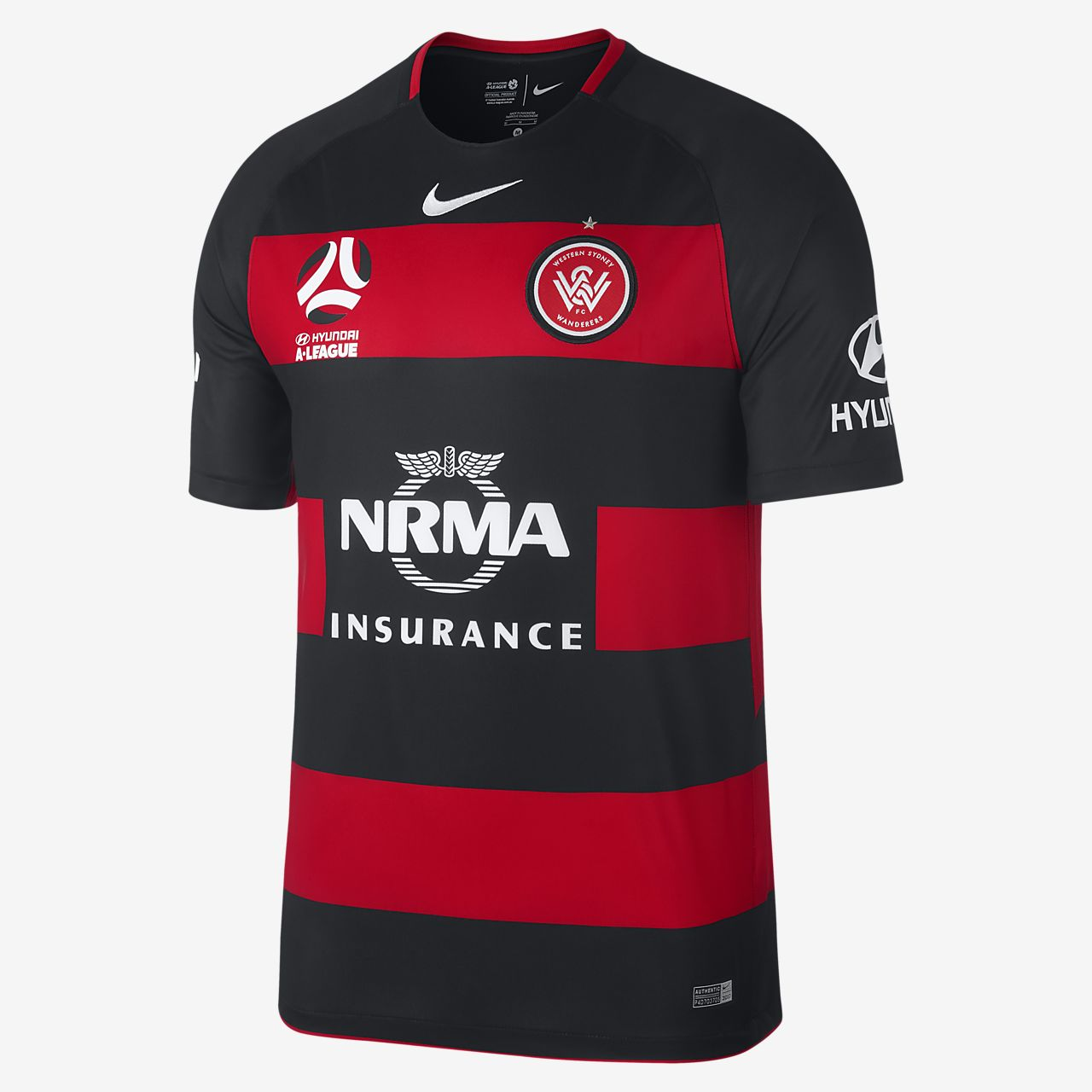 2017/18 Western Sydney FC Stadium Home Men's Football Shirt