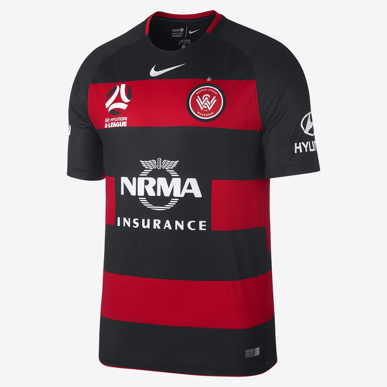 ... temporada Camiseta de fútbol para hombre Western Sydney FC de local para  aficionados ff48cd1b14af5