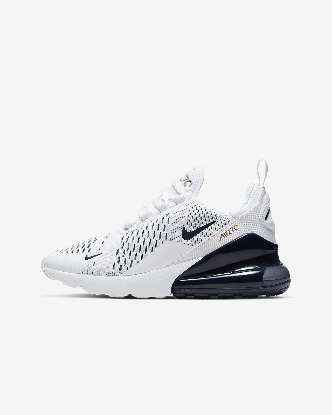 Nike Air Max 270 chaussures enfants noir