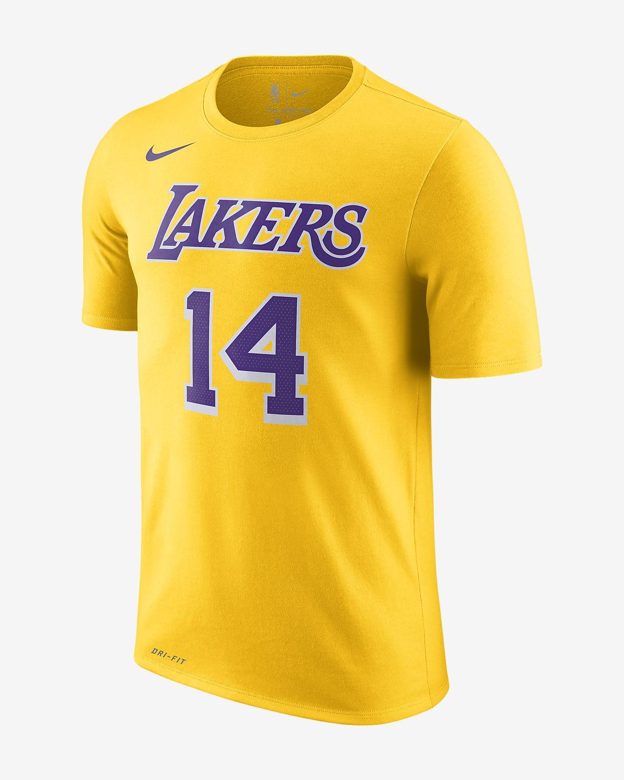 f4fef86ac Brandon Ingram Los Angeles Lakers Nike Dri-FIT Men s NBA T-Shirt ...