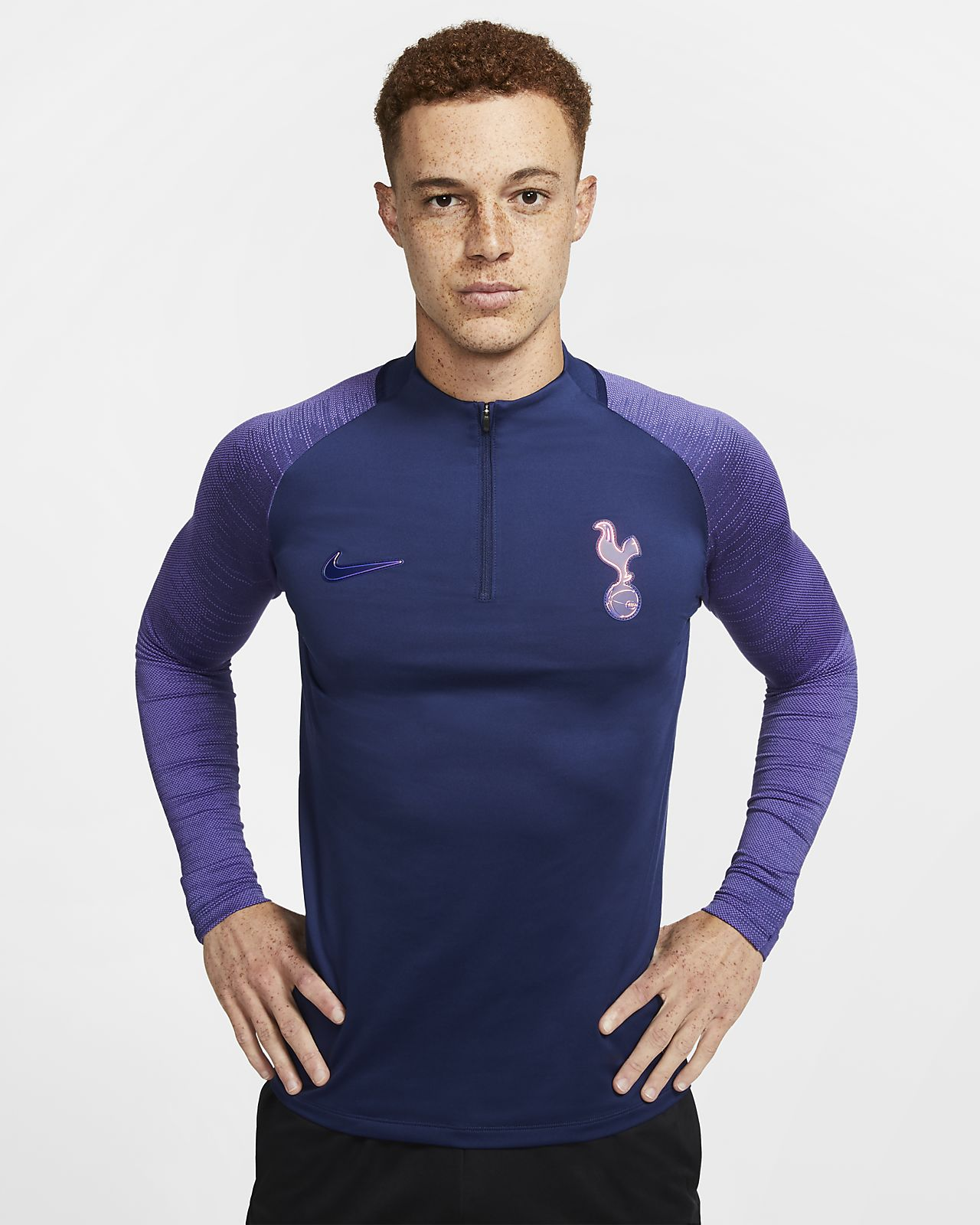 Tottenham Hotspur Strike Men's Football Drill Top