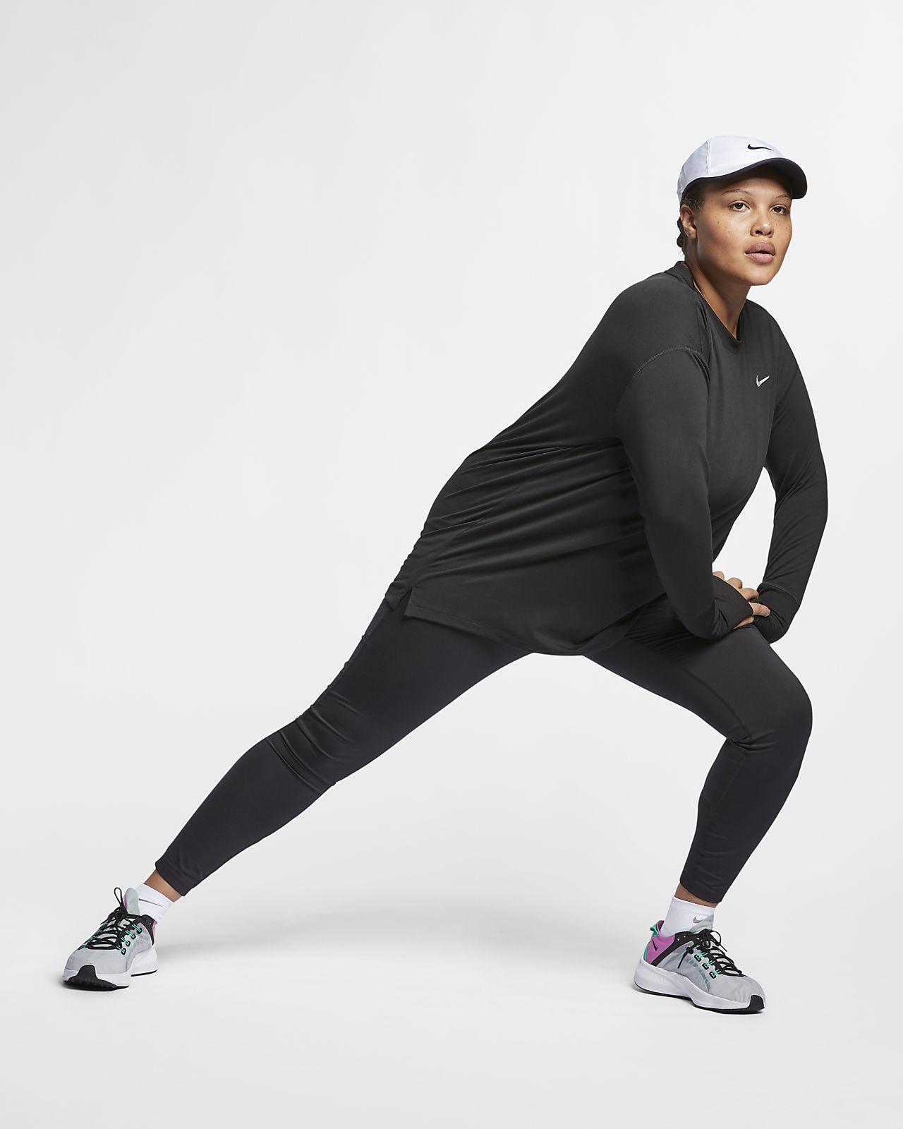 ca345b21211 Nike Element (Plus Size) Women s Long-Sleeve Running Top. Nike.com CA