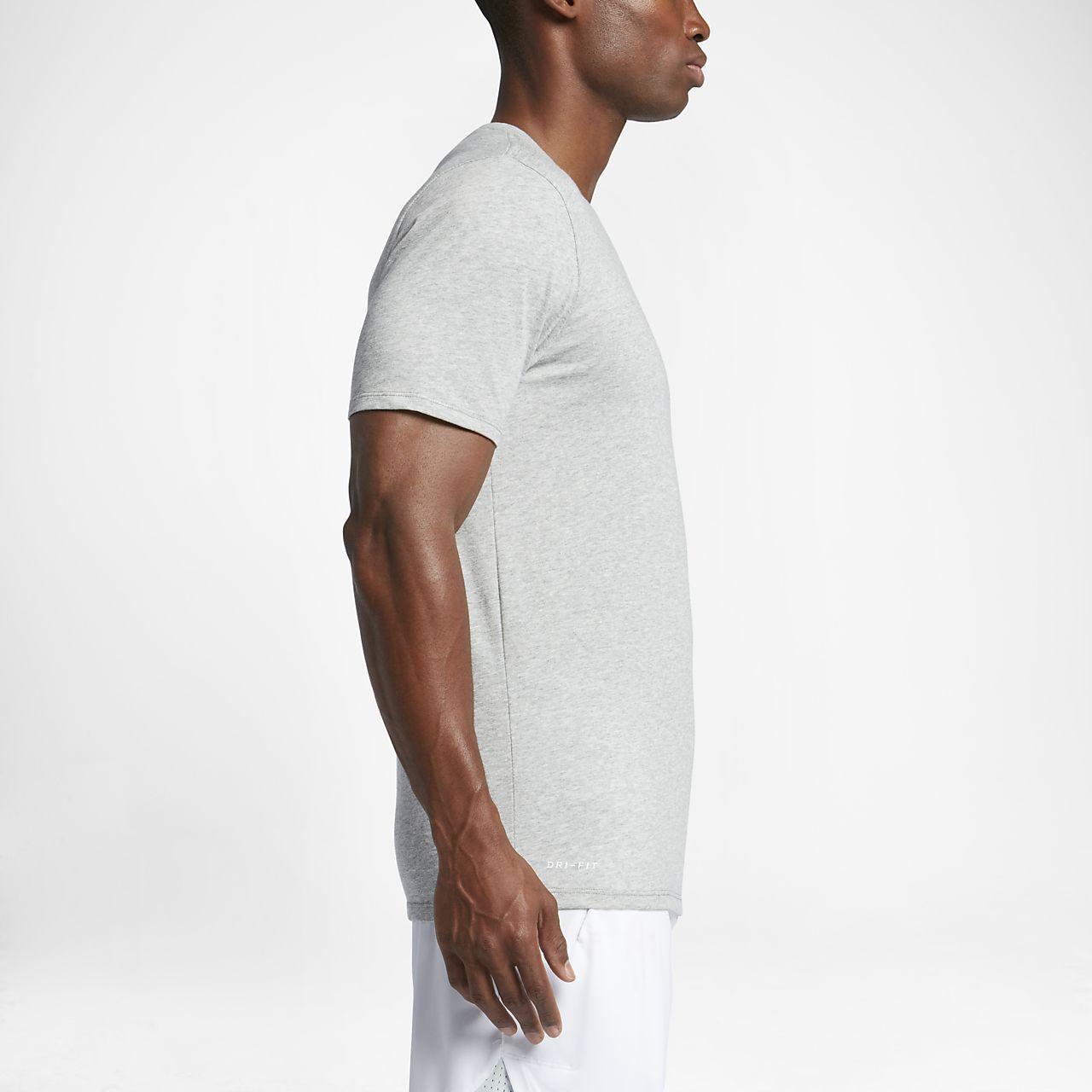 8a9c5fe913ee97 Shirts & Hemden Streetwear Nike Herren Dri-Fit Cotton Kurzarm 2.0 T-Shirt  706625