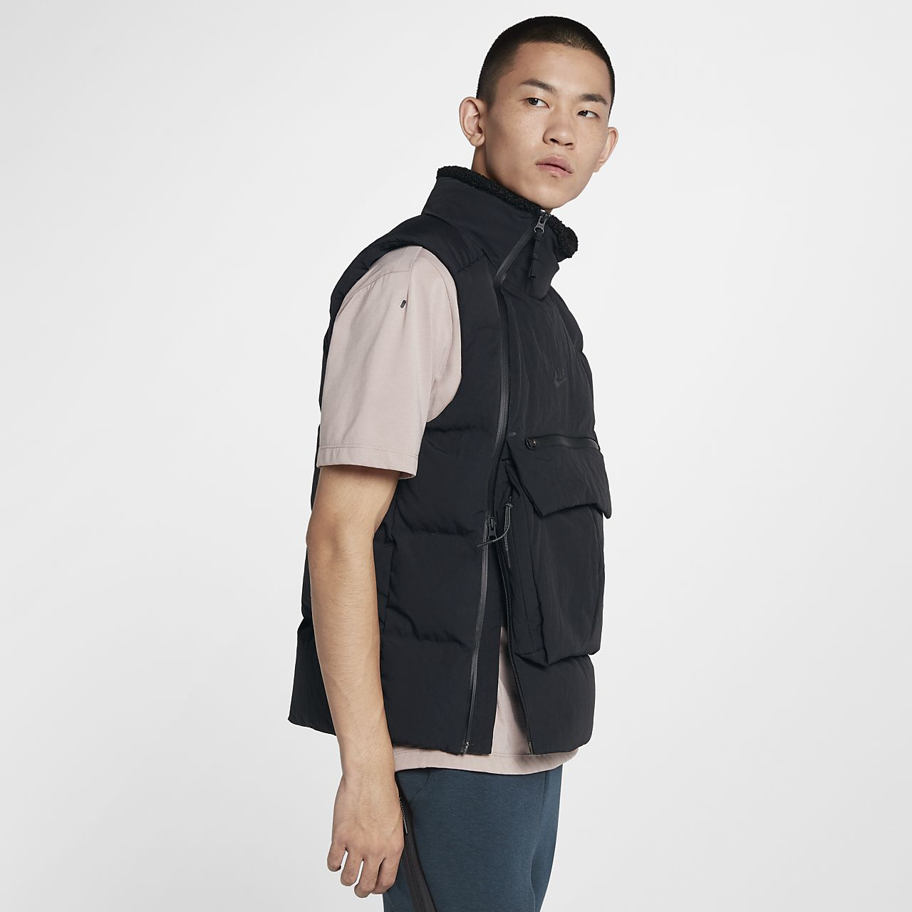 Sportswear Nike Pack Tech Gilet Fill Id Men's Down dwxwqr5Ez
