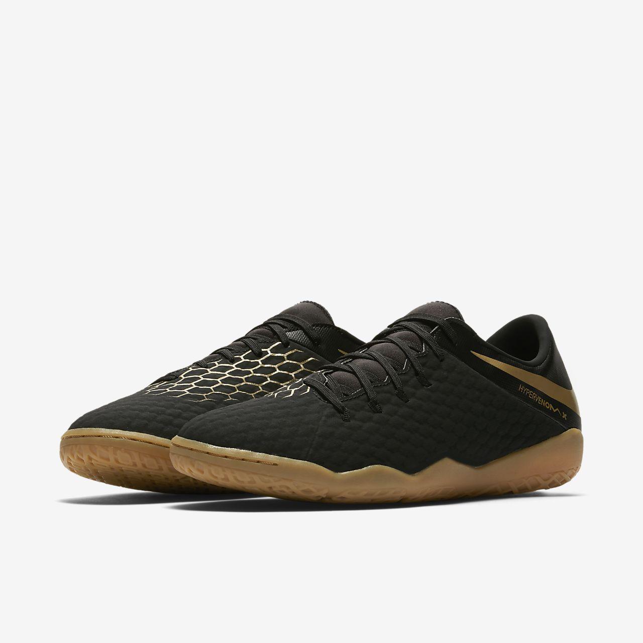Nike Football Hypervenom Phantomx 3 Formateurs D'intérieur En Aj3814-090 Noir - Noir qZyTgX