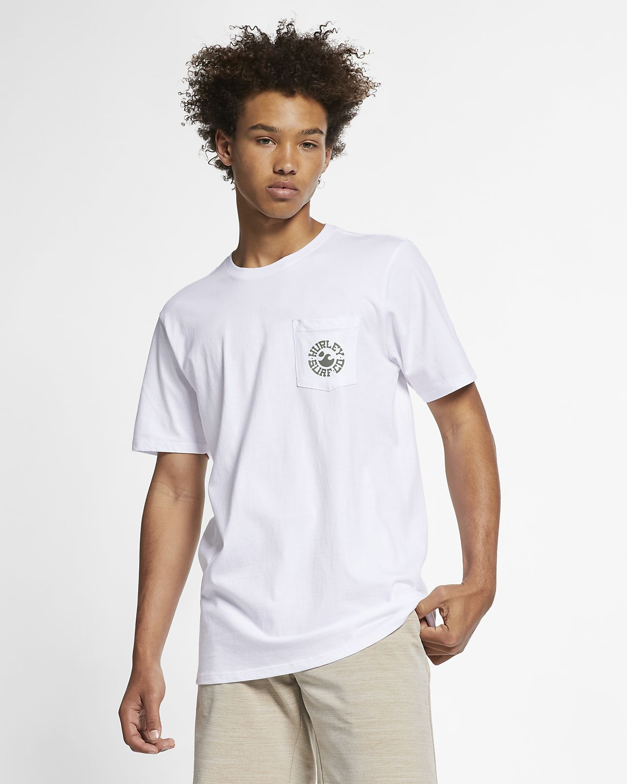 T-shirt Hurley Premium Roundo för män