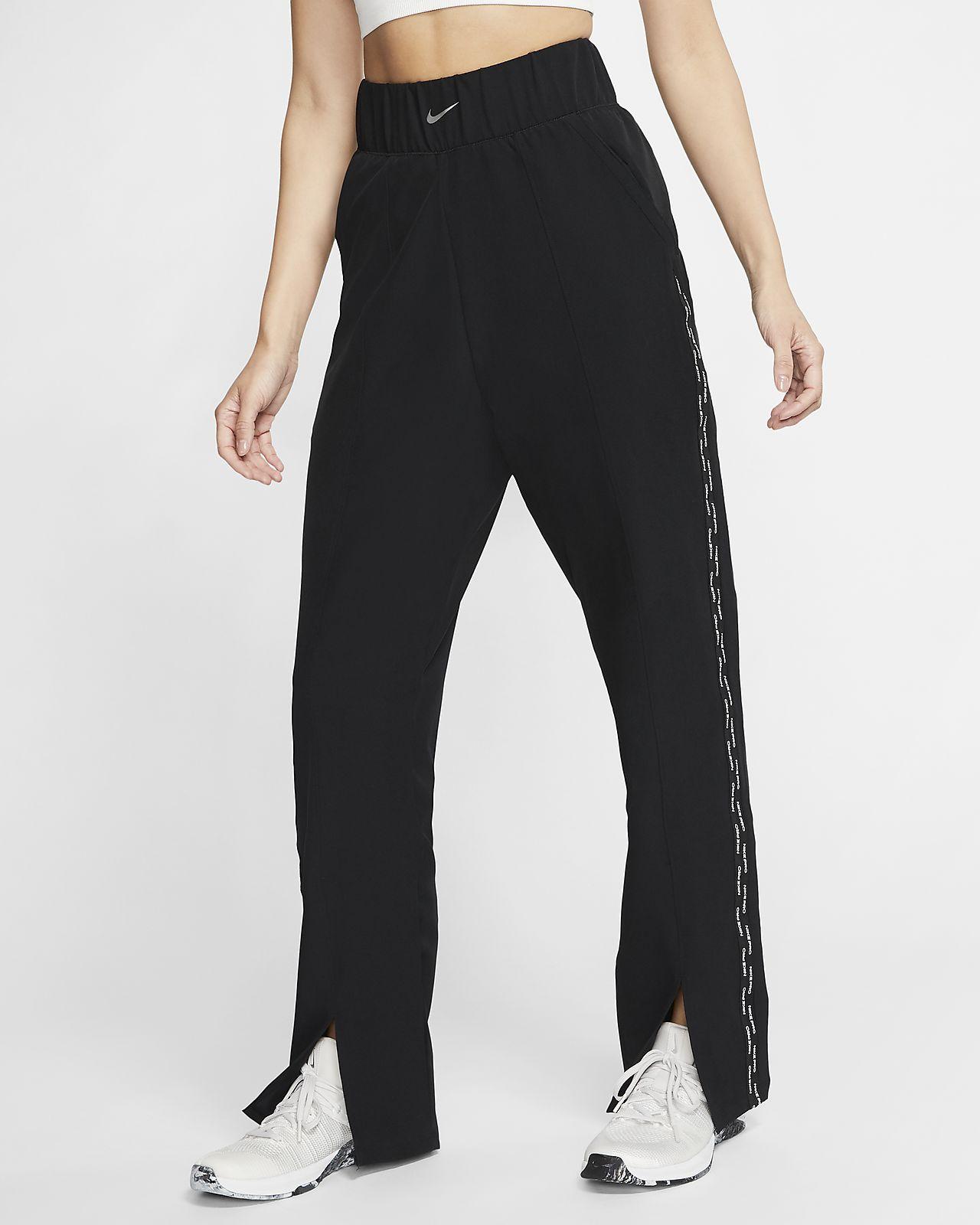 Damskie spodnie z tkaniny Nike Pro