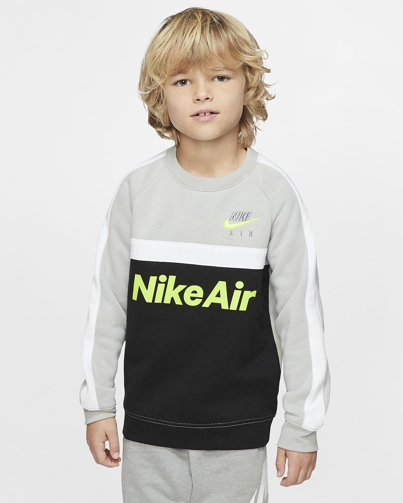 Tröja med rund hals Nike Air för barn