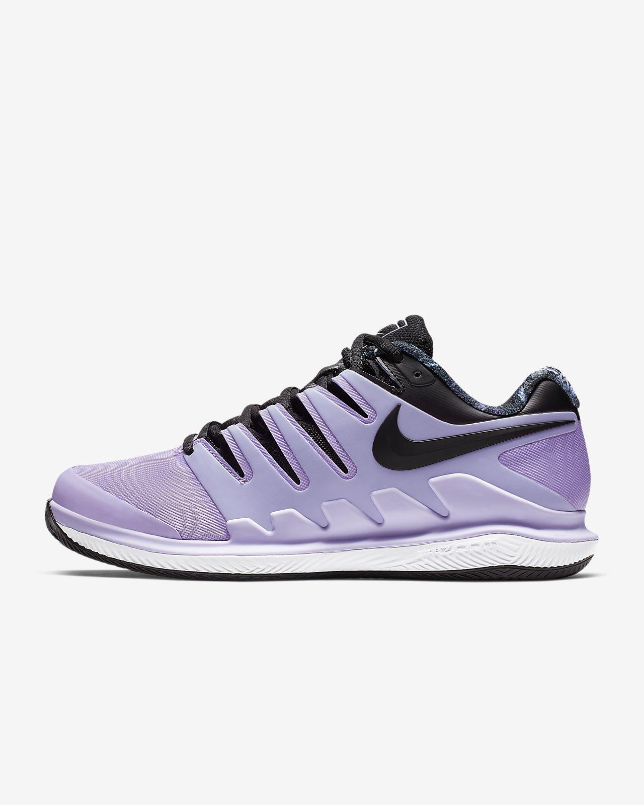 Chaussure Femme Air De Nikecourt X Tennis Pour Battue Terre Zoom Vapor cR354LAjqS