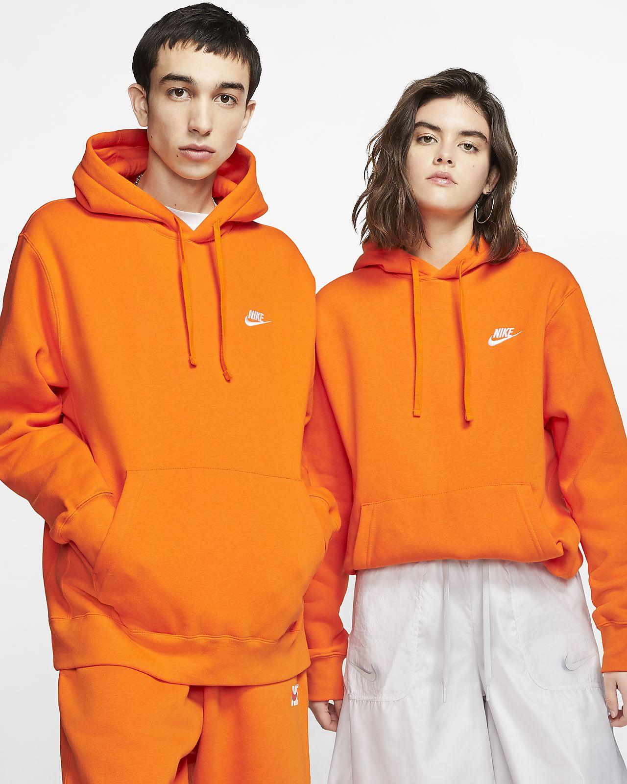 Nike Orange Sweats & Hoodies for Women for sale | eBay