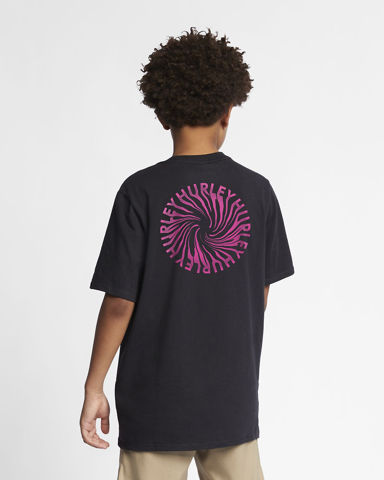 Hurley Premium Wormhole Jungen-T-Shirt