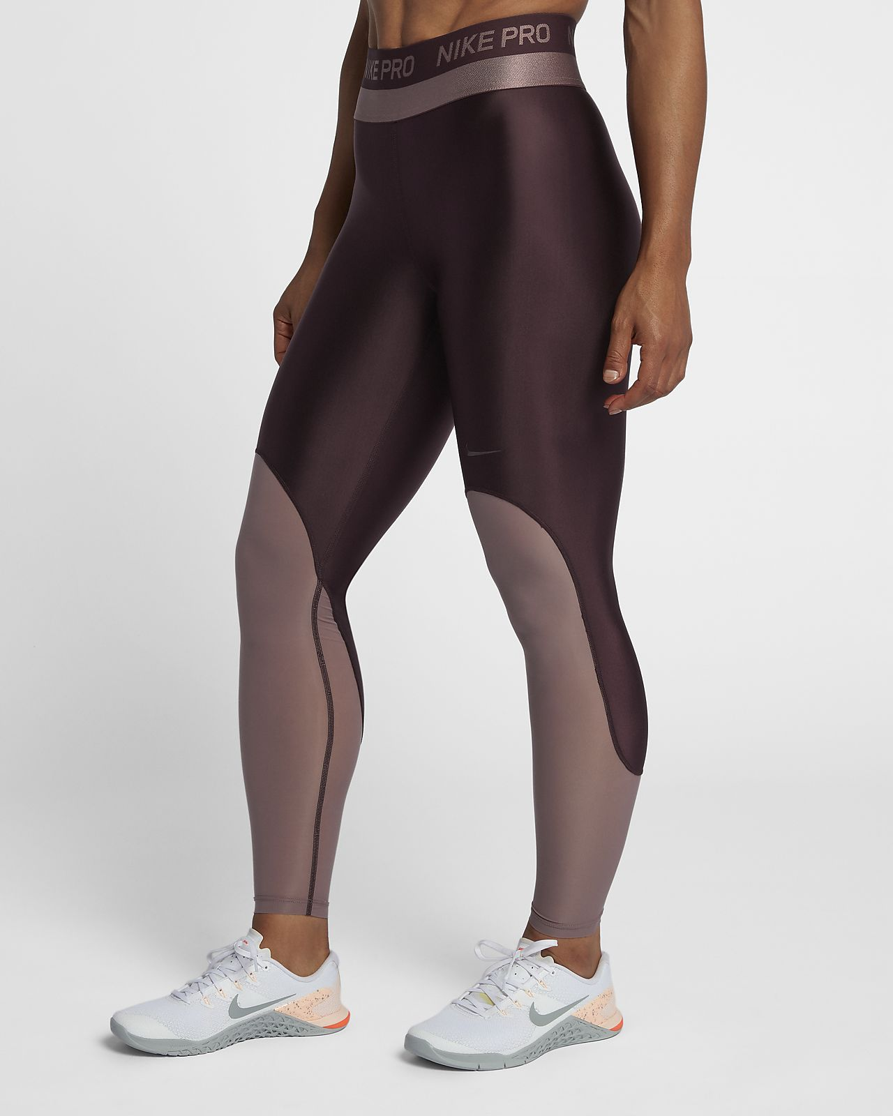 db0181b584 Nike Pro HyperCool Women s Mid-Rise Training Tights. Nike.com GB