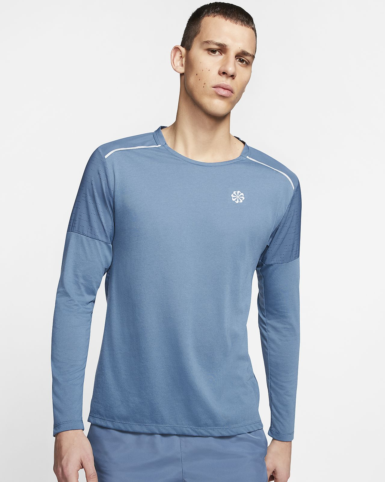 Nike Rise 365 Men's Long Sleeve Running Top