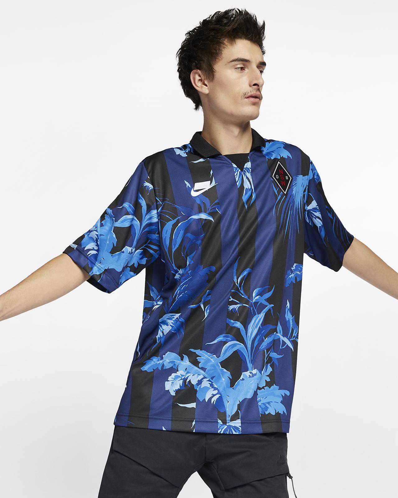 Nike Sportswear NSW Men's Short-Sleeve Striped Top