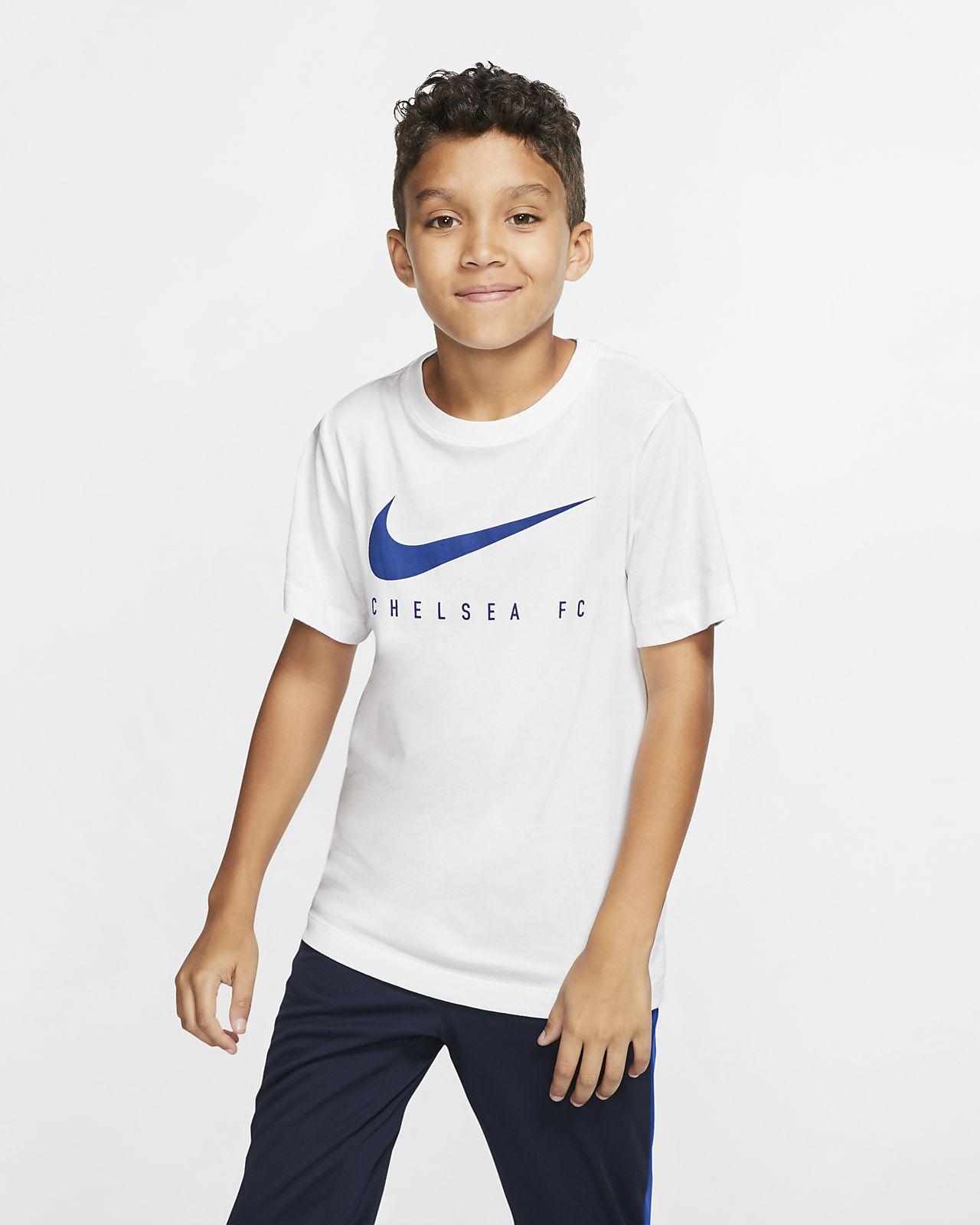Fotbolls-t-shirt Nike Dri-FIT Chelsea FC för ungdom