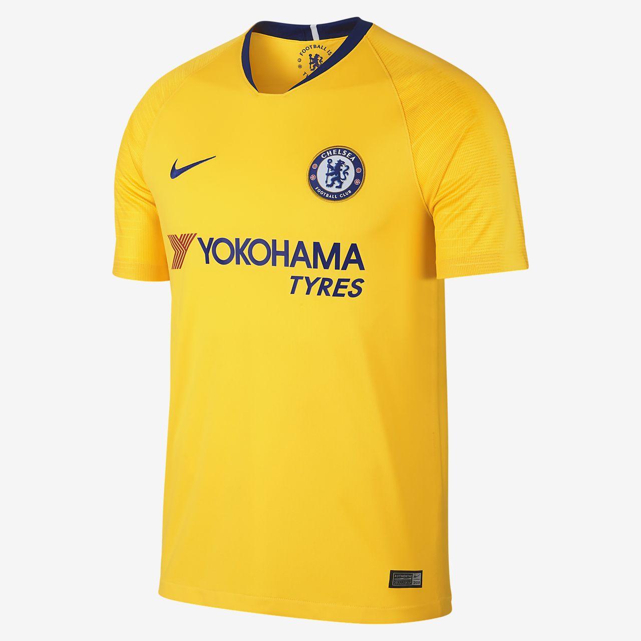 Camiseta de fútbol para hombre 2018 19 Chelsea FC Stadium Away. Nike ... 54f11fda713a1