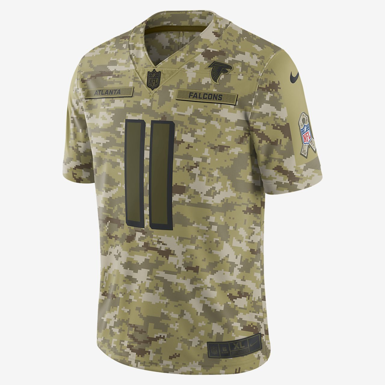 NFL Atlanta Falcons Salute to Service (Julio Jones) Big Kids' Football Jersey