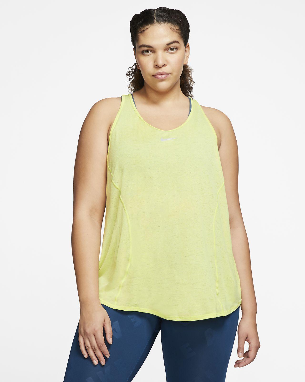 Nike 10K Women's Running Tank (Plus Size)
