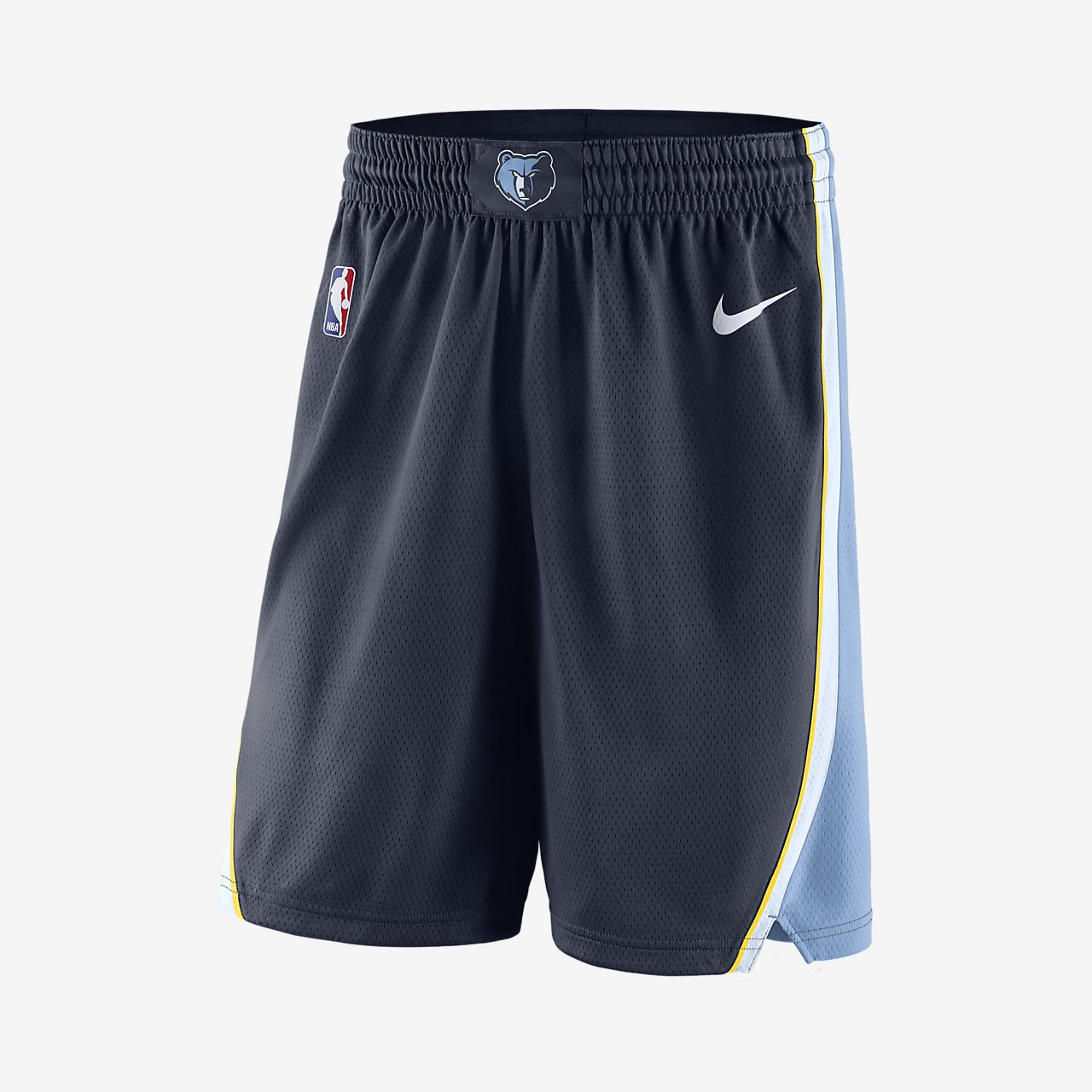 Short de NBA Memphis Grizzlies Nike Icon Edition Swingman pour Homme
