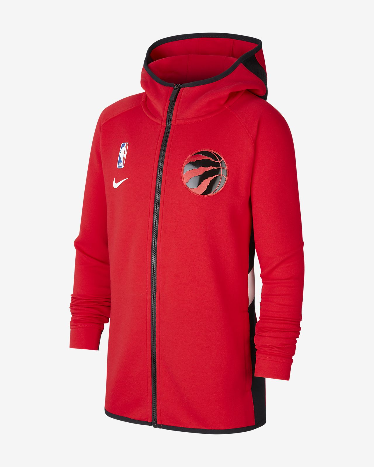 Raptors Showtime Older Kids' Nike Dri-FIT NBA Hoodie