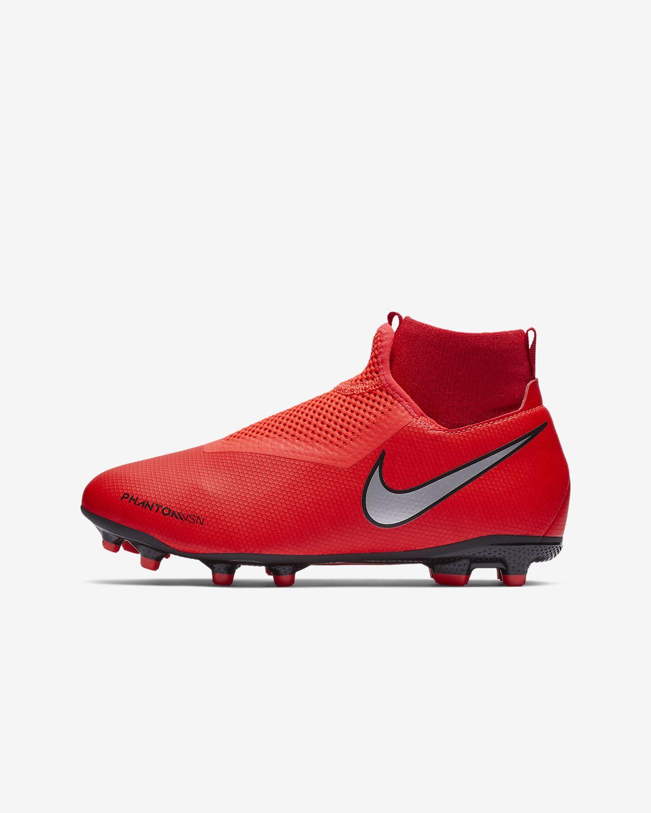 Calzado de fútbol para múltiples superficies para niños talla pequeña/grande Nike Jr. PhantomVSN Academy Dynamic Fit Game Over MG