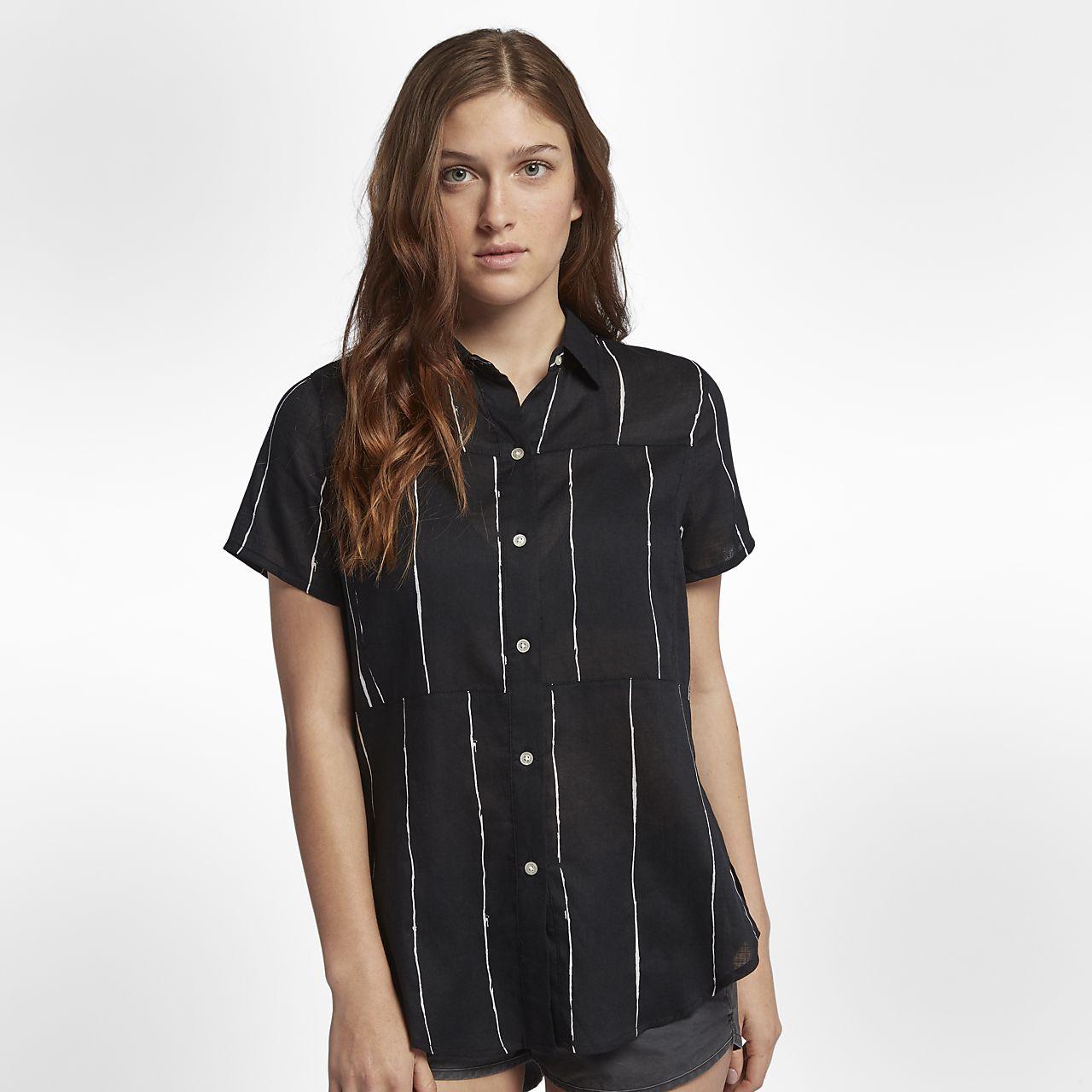 0aaa684ba6 Camisa de manga curta Hurley Wilson Static para mulher. Nike.com PT