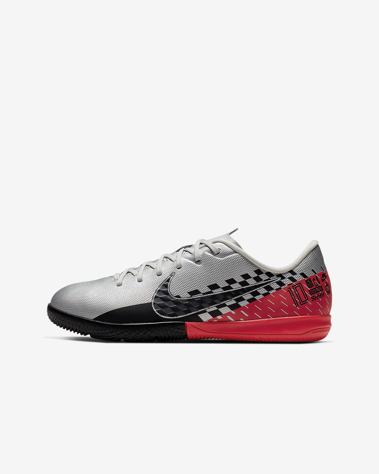 Nike Jr. Mercurial Vapor 13 Academy Neymar Jr. IC Kids' Indoor/Court Soccer Shoe