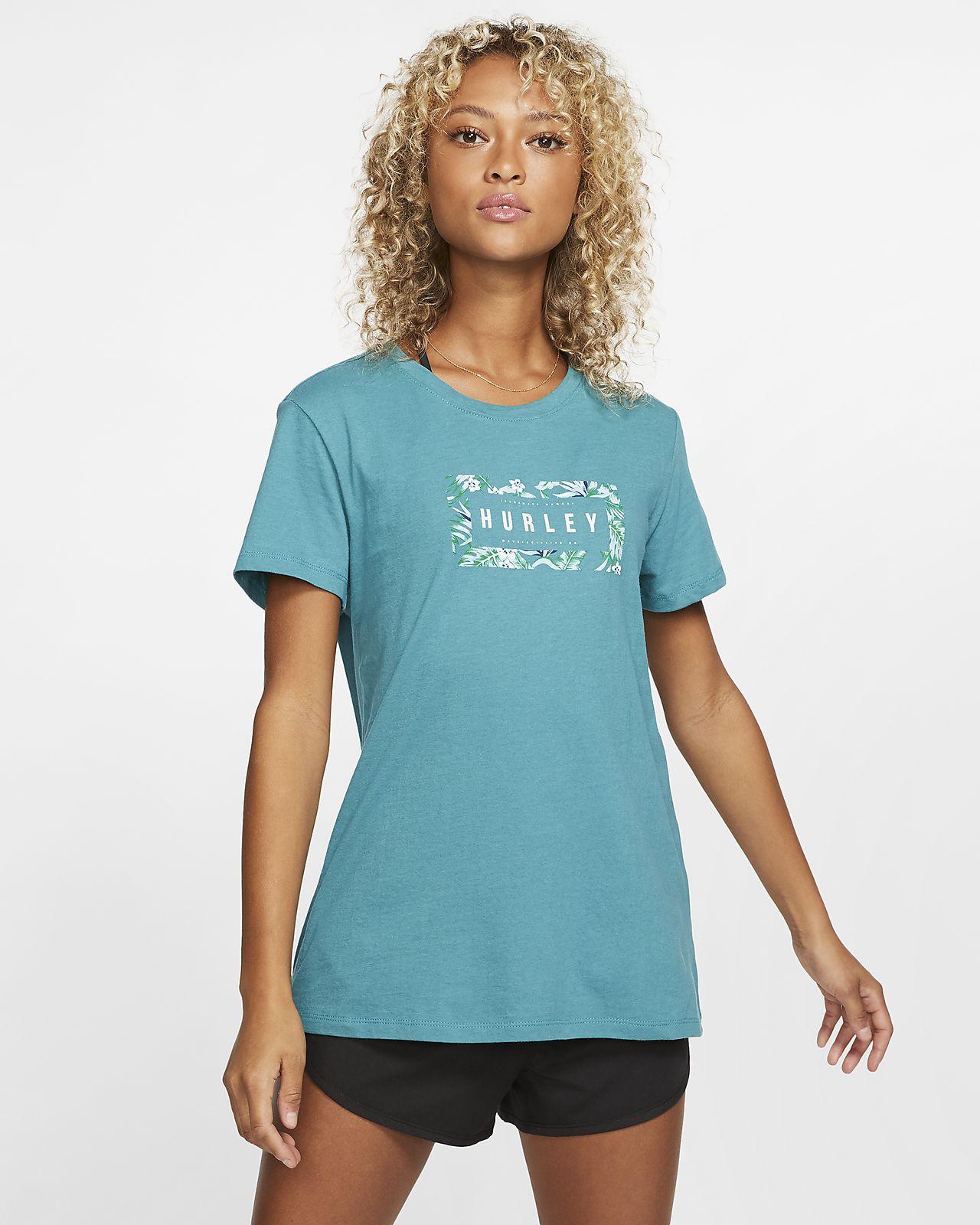 Hurley Flashback Floral Perfect Damen-Rundhalsshirt