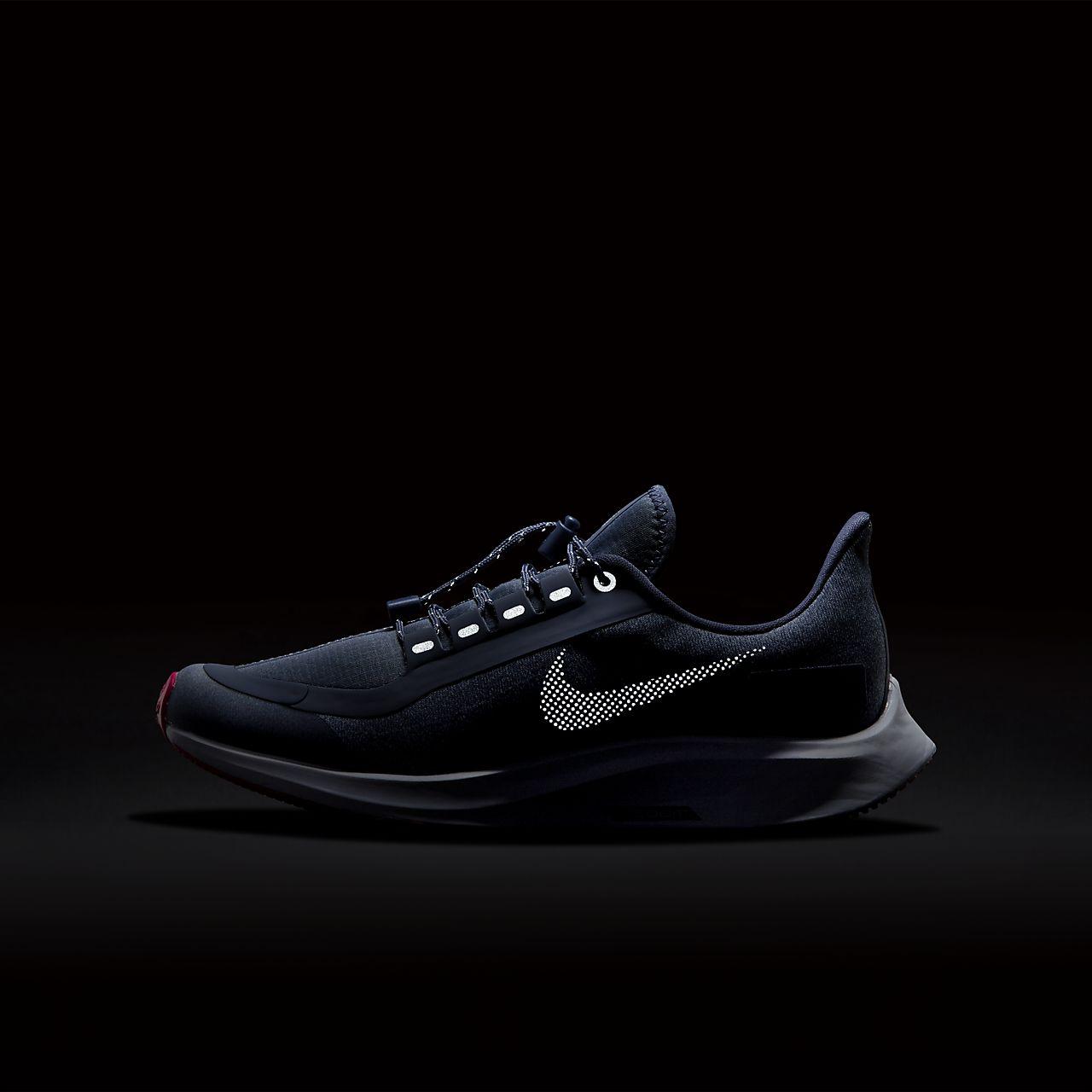 99adac913b80c Nike Air Zoom Pegasus 35 Shield Younger Older Kids  Running Shoe ...