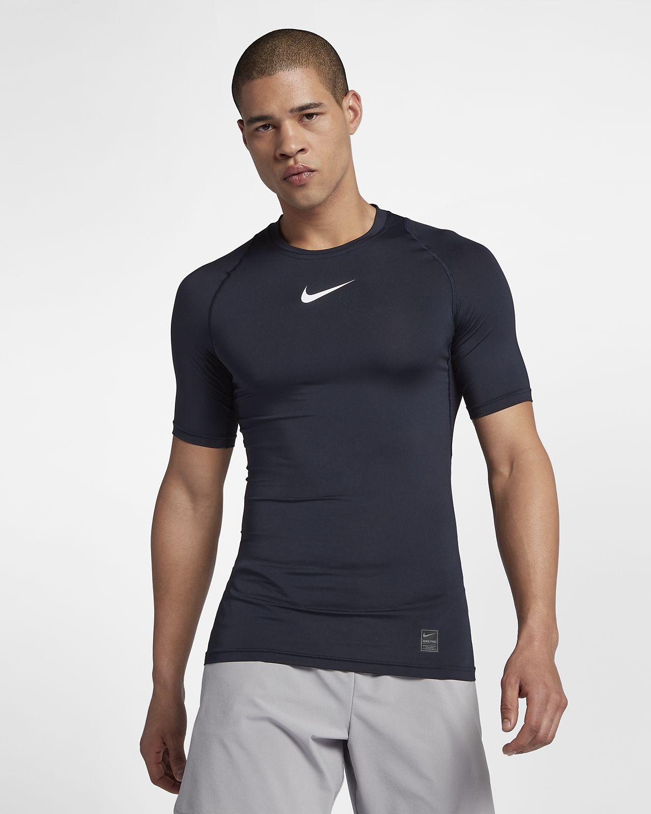Nike Pro – kortærmet træningsoverdel til mænd