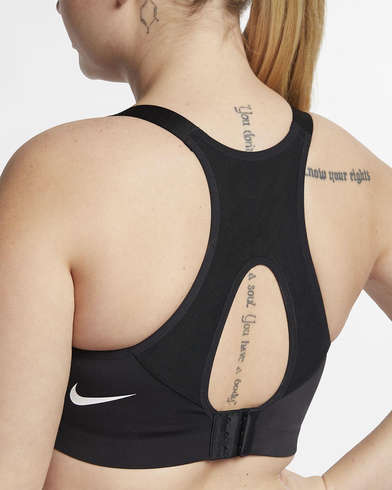 f3310a71ef405a ... Damski stanik sportowy zapewniający wysokie wsparcie Nike Rival (duże  rozmiary)