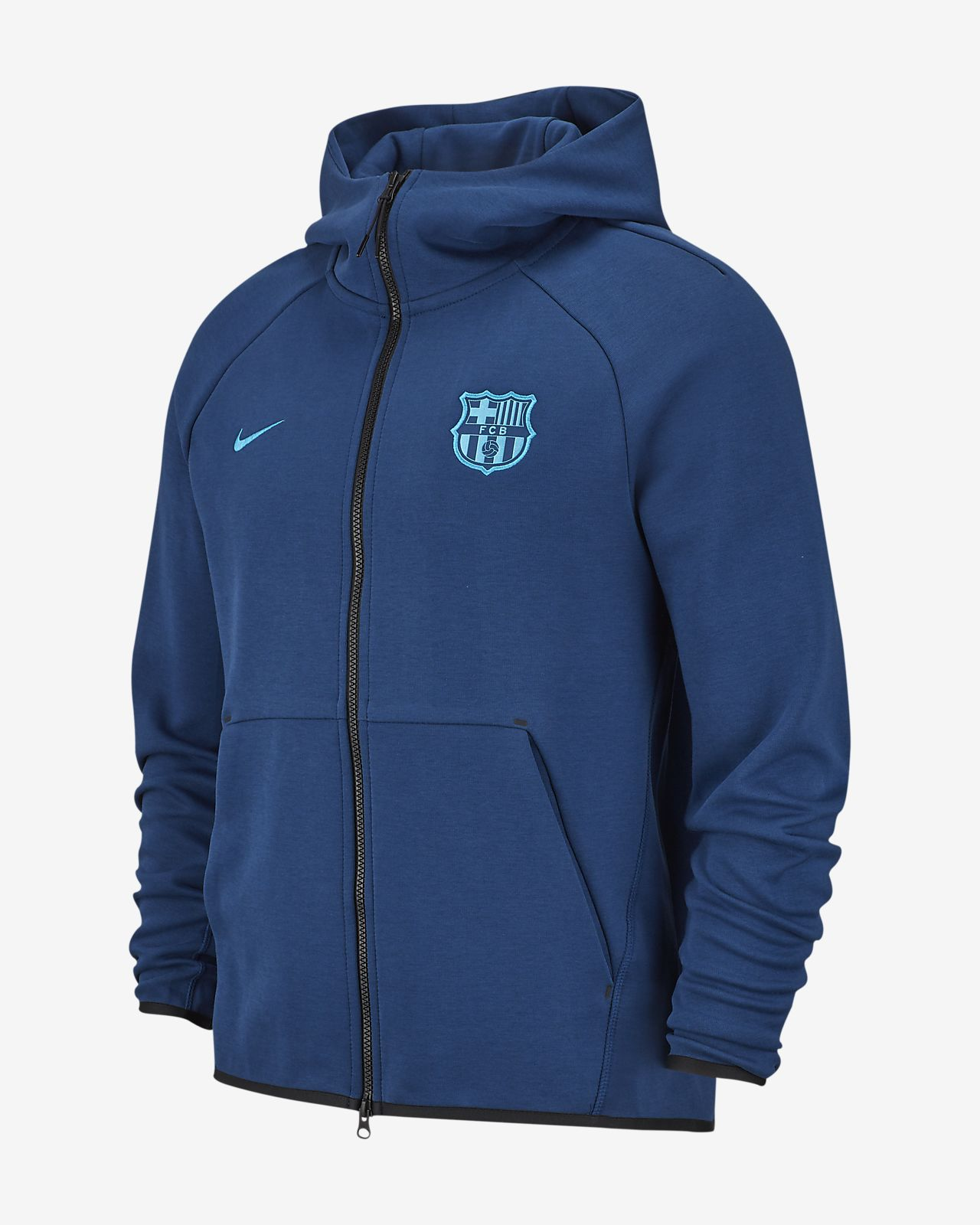 FC Barcelona Tech Fleece Men's Hoodie