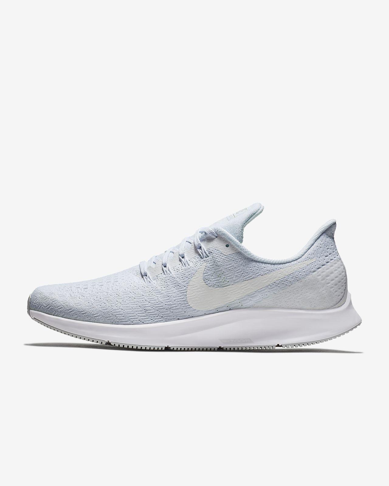 Nike Air Zoom Pegasus 35 Pure Platinum Laufschuhe Für Damen