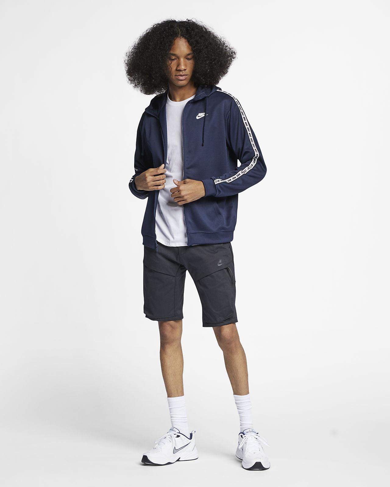 Hoodie com fecho completo Nike Sportswear para homem