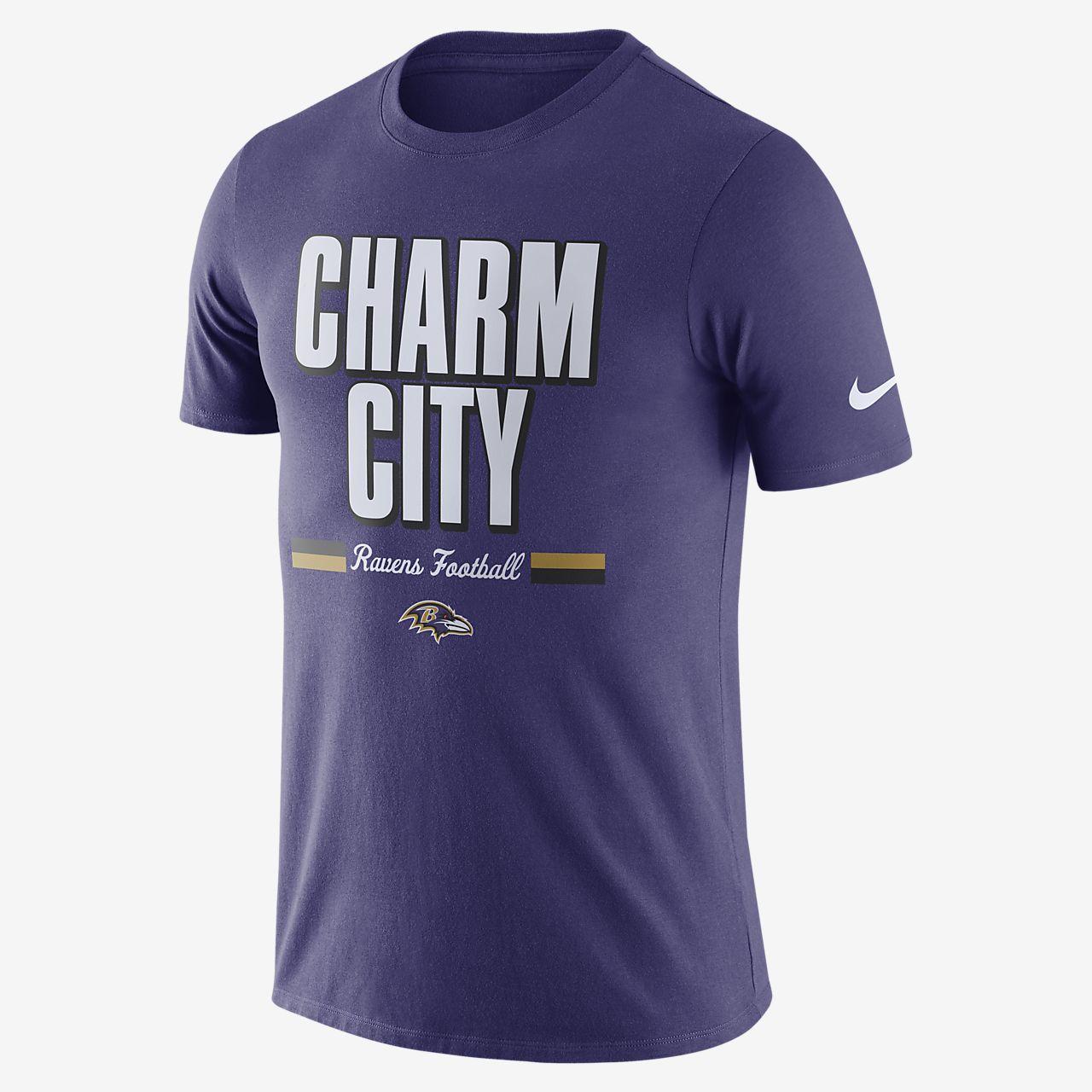 Nike Dri-FIT (NFL Ravens) Big Kids' T-Shirt